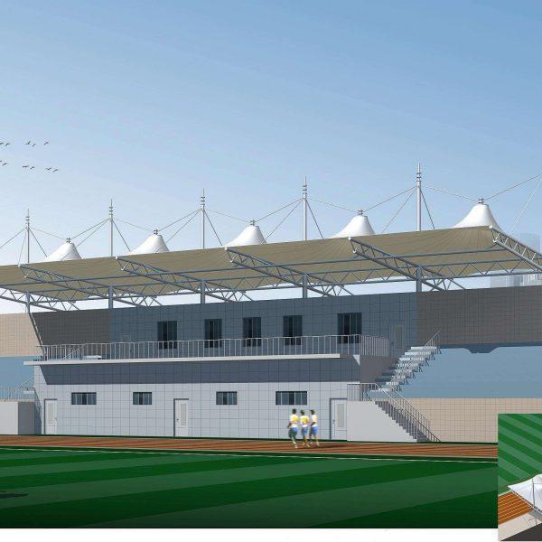 stadium PVC tent