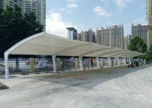 PVDF membrane roof