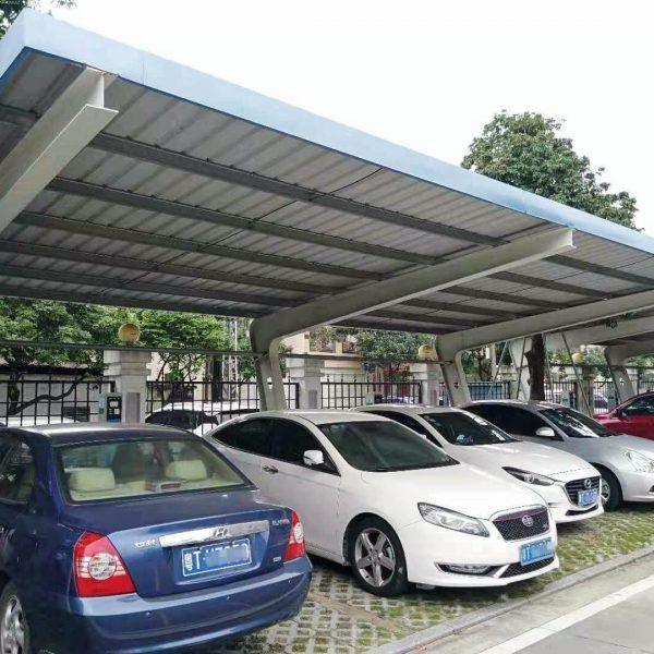 mild steel parking shades