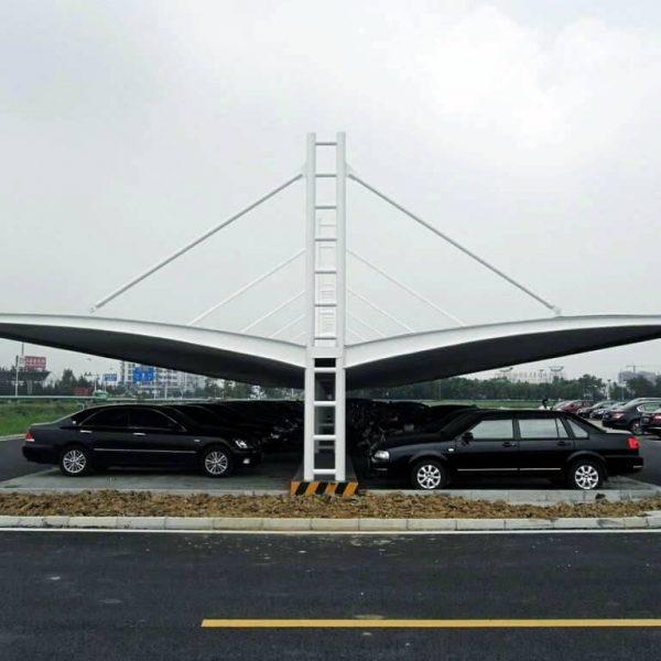 car parking tensile struture